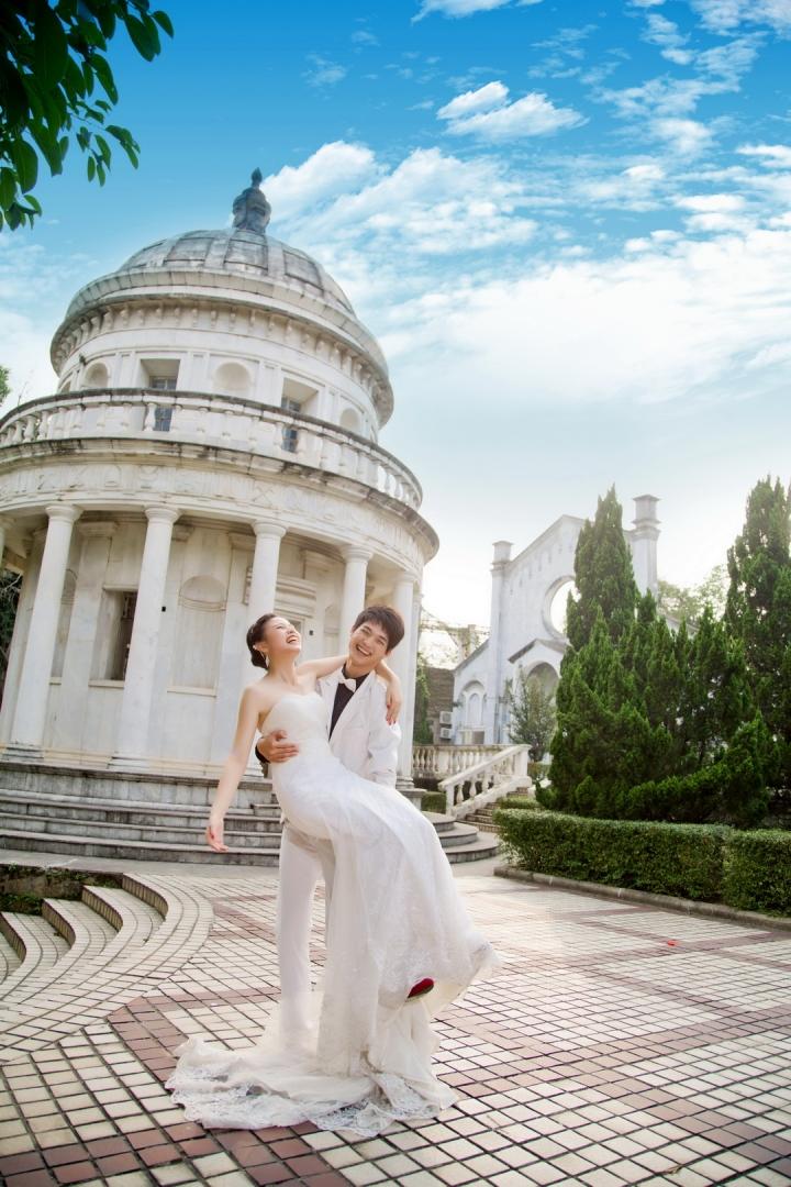 广州婚纱摄影-相依相偎的晒片