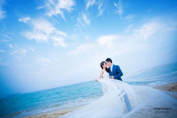 深圳婚纱摄影-印象季婚纱摄影的晒片