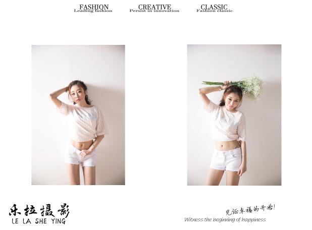 厦门个人写真-乐拉婚纱摄影的晒片