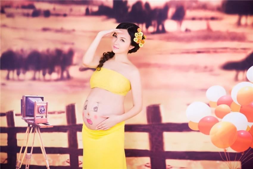 广州孕妇摄影-小九女王的晒片