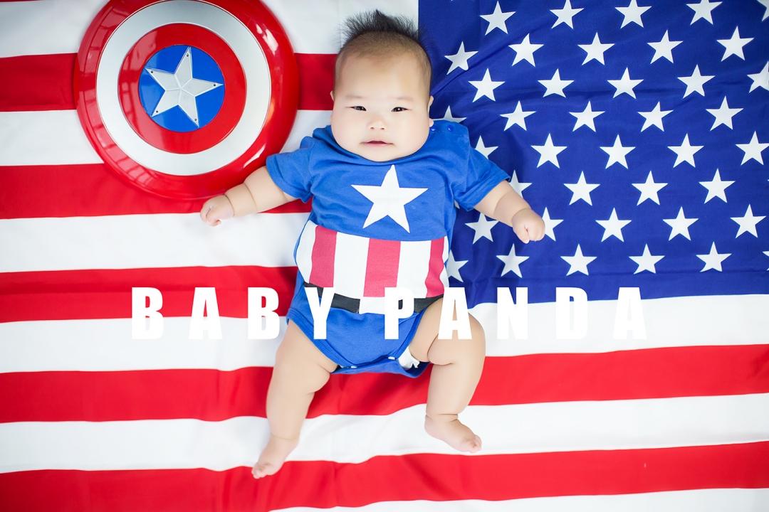 苏州儿童摄影-宝宝PANDA的晒片