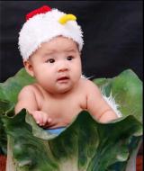 爱尚阳光宝贝儿童摄影工作室--爱尚阳光宝贝儿童摄影工作室-百天照,半岁照-5