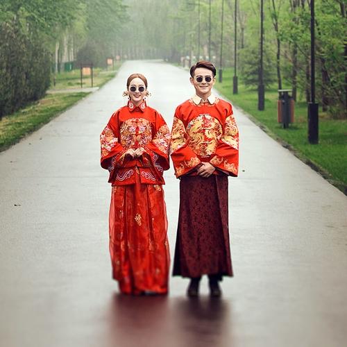 北京婚纱摄影-岸芷汀兰精品摄影双井店的晒片