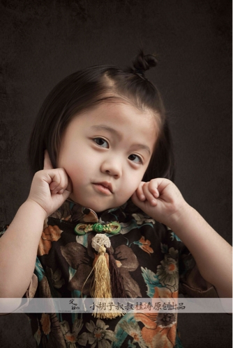 北京儿童摄影-小胡子叔叔桂涛的晒片