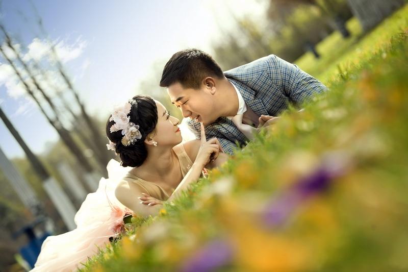 西安婚纱摄影-碎月的晒片