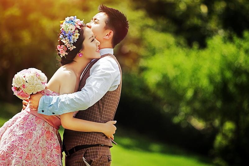 西安婚纱摄影-天生爱美丽的晒片