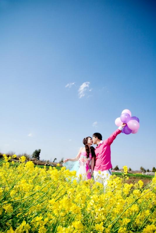 昆明婚纱摄影-煙花、層絢的晒片