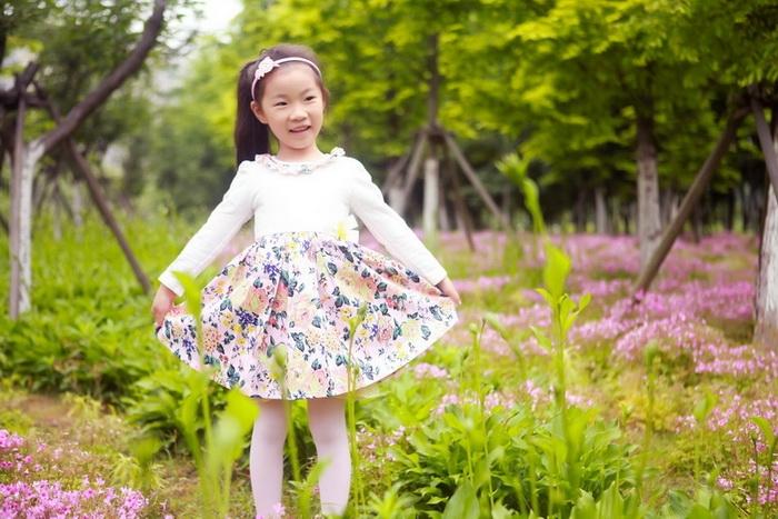 苏州儿童摄影-惠姑娘和小雨滴的晒片